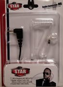 Klein Starm6 Single Pin Clear Accustic Coil/talk About Radios