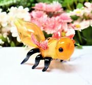 5 Lovely Hornet Collectible Tobacco Glass Smoking Herb Bowl Hand Pipes Gift