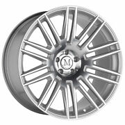 21 Inch Staggered 21x9.5 Front 21x11 Rear Mandrus Estate Wheels 5x112 +30 Offset