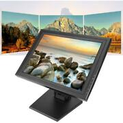 15tft-lcd Capacitive Touch Screen Display Cash Register Touch A Carte Usplug