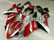 Fit For 2007-2008 Yamaha Yzf R1 Red White Black Injection Mold Fairing Kits Al