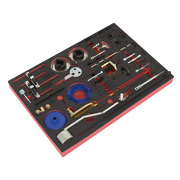 Sealey Diesel And Petrol Timing Tool Kit 36 Pieces Belt/chain Drive - Vs5200mk