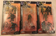 Joyride Lot Halo Mini Series 2 Slayer Campaign Pack Limited Exclusive Figures