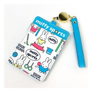 Pass Case With Reel Wh Flyer Sports Miffy