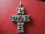 J2866 Vintage Solid Silver Pax Cross Weight 6,6 Gr Length 4,2 Cm