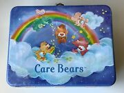 Care Bears Rix Products Llc Tin Metal Lunch Box - Brand New Never Used