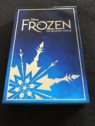 """Disney's """"frozen"""" Limited Edition Snowflake Ornament Purchased At Broadway Show"""