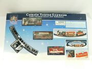 Lemax Carole Towne Express Train Set In Box Circular Track 24 Complete Works