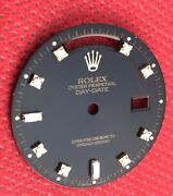 Oem Rolex Day-date President Factory Black Dial.