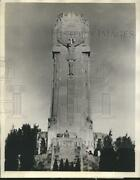 1932 Press Photo Shrine Of The Little Flower Of Jesus Erected By Father Coughlin