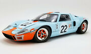 1969 Ford Gt40 Mkii 22 Gulf Ickx Sebring 112 Diecast Masterpiece Collection