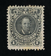Exceptional Scott Ro87a Private Die Wm Gates Matches Die-i On Old Paper 13685