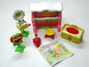 1980s Kenner Strawberry Shortcake Rare Deluxe Berry Fancy Fun Room Set 6pcs