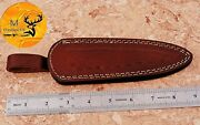 7 Inches Hand Made Pure Cow Leather Sheath For Knives And Other Tools - Aj 1306