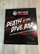 Death At The Dive Bar Immersive Murder Mystery Game Take On The Unsolved Case