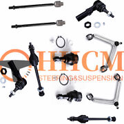 10pc Front Suspension Control Arm Kit For 02-05 Ram 1500 4wd 4x4