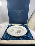 Collectible Royal Worcester The Birds Of Dorothy Doughty Dessert Plate 1976.