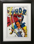 Marvel The Mighty Thor 337 Framed Comic Book Poster Nick Fury