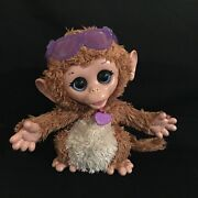 Furreal Friends Andldquobaby Cuddlesandrdquo My Giggly Monkey Wiggles And Giggles Motion