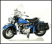 Danbury Mint 1948 Indian Chief Motorcycle With Title And Brochure Nib