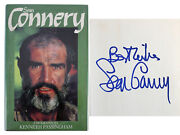 Sean Connery Authentic Signed Biography 1st Edition Hard Cover Book Psa V03812