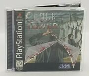 Clock Tower Sony Playstation 1 1997 Rare Ps1 Collector Copy W/ Registration