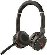 Jabra Evolve 75 Ms Version B Wireless Stereo Bluetooth Headset With Microphone