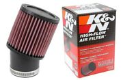 Kandn Ru-1750 Universal Clamp-on Round Straight Rubber Air Filter Cleaner