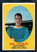 A And Bc Gum Bazooka 1962 Footballer Mel Charles - Cardiff City And Wales Type Card