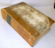 Thick Heavy Antique Hc Godeyand039s Ladyand039s Book Double Issue 1853 And1854