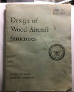 Department Of The Airforce Design Of Wood Aircraft Structures 1951