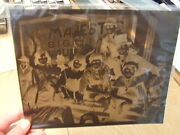 Rare 1919 Foy Family On First Anheuser-busch Bevo Victory Boat 1940and039s Negative