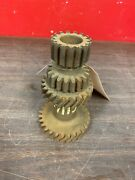 1932 1933 - 1935 Ford Car And Pickup Truck 28t Transmission Cluster Gear Nos 221