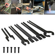 Five Types Of Tongs Bundle Set Comes With Rivet Convenient Multifunctional Tools