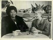 1962 Press Photo Mahalia Jackson Left And Helen O'connell On Here's Hollywood