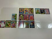 Garbage Pail Kids-brand New Series 2-lot Of 16 Cards-gold, Silver, Black Borders