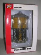 Walthers 933-2813 Wood Water Tank Built-up H.o. 1/87