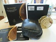 Rare Unused Limited Hardy St George 3 Royal Wedding Rhw Trout Fly Fishing Reel