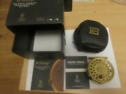 Rare Unused Limited Hardy St George 3 Royal Wedding Lhw Trout Fly Fishing Reel