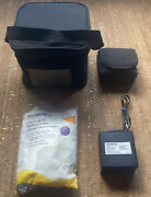 Medela Insulated Travel Bottle Cooler W/ Battery Charger Case And 4 Nursing Pads
