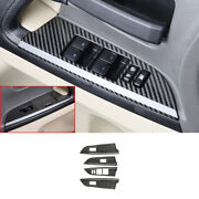Real Carbon Fiber Glass Window Lifting Panel For 2008-2021 Toyota Land Cruiser
