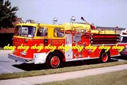 Fire Apparatus Slide Community Fire Co New Ringgold Pa 1973 Seagrave Pa197a