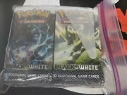 Black And White Base Set 36ct Factory Sealed Booster Packs = Booster Box Unweigh