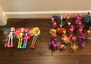 My Little Pony G3 + G4 Lot With Equestria Girls And Other Mlp Themed Things