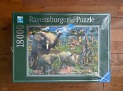 New Ravensburger At The Waterhole 18000 Piece Jigsaw Puzzle