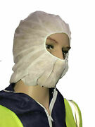 21 Personal Protection Hood White Light Weight Polypropylene Pp Suit