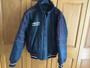 Mens Yamaha Snowmobile Jacket Yamafest Size L Black And Red