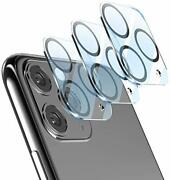 [2020 New Version Add Camera Flash Circle] Camera Lens Protector For 2 Pack