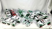 Hess Truck Lot Collection Cars Tow Trucks Fire Truck Helicopter Jetsandnbsp