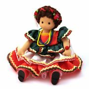 Green Tree Musical Doll 981-55 Mexican Doll Fiesta Traditional Dress